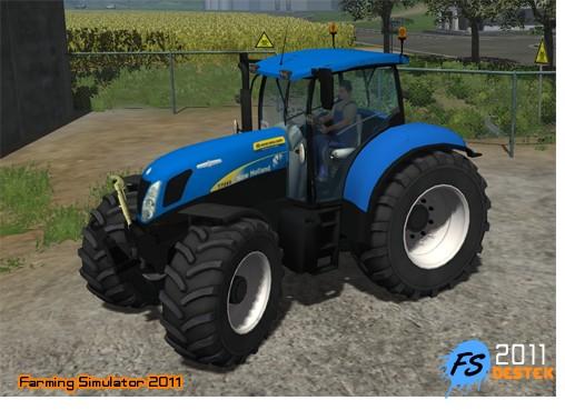 Photo of New Holland T7030 Traktör 2011