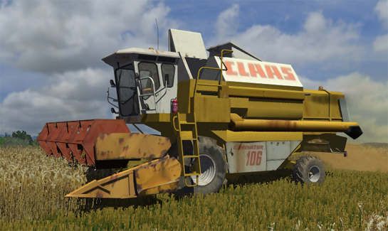 Photo of CLAAS Dominator 106 (AP)