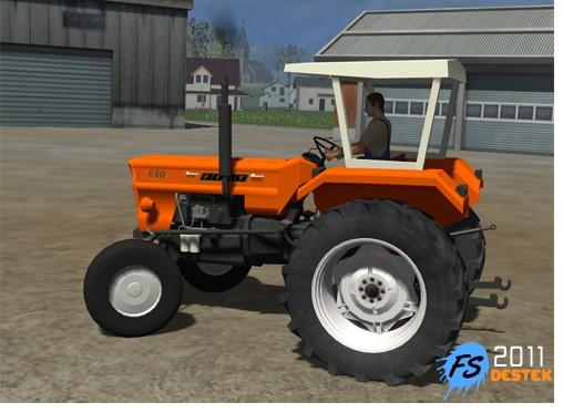 FIAT 640 Traktör İndir 2011