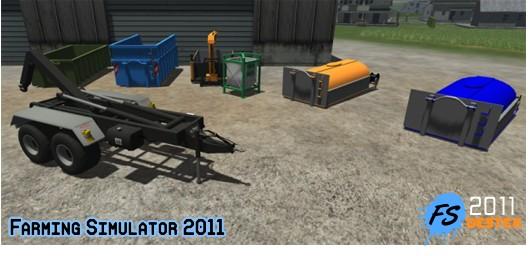 Photo of Fliegl Hakenlift Sistem Traktör Römork Paketi