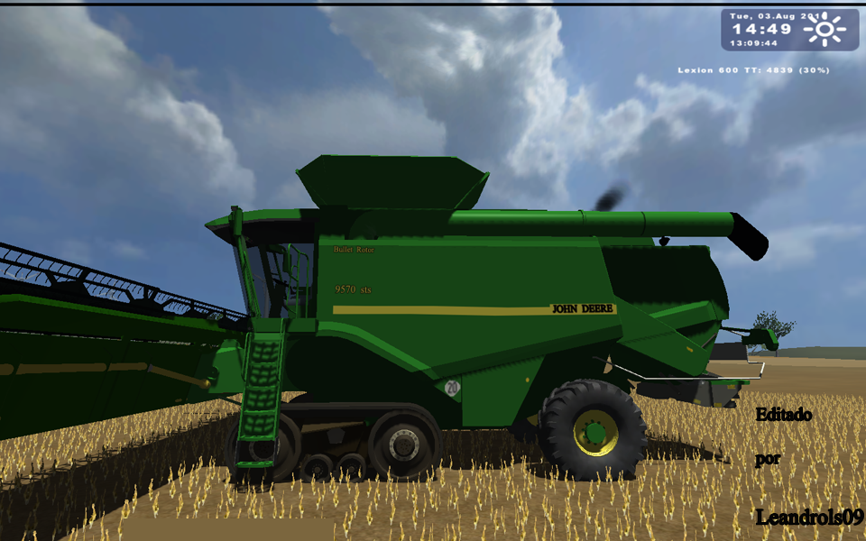 Photo of John Deere 9570 sts TT Multigrain
