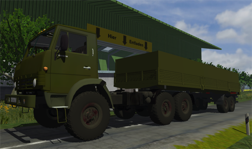 Photo of Kamaz 4410 6×6 Tır + Dorse