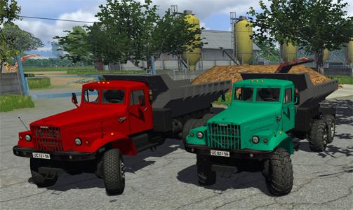 Photo of KrAZ 256 ( Kırmızı ve Yeşil)