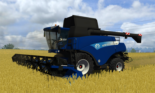 New Holland CR9090 Blue