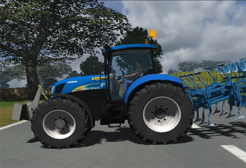 Photo of New Holland T7030 v2
