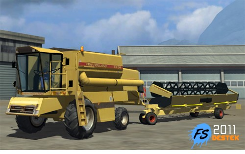 Photo of New Holland TX34 Paket 2011