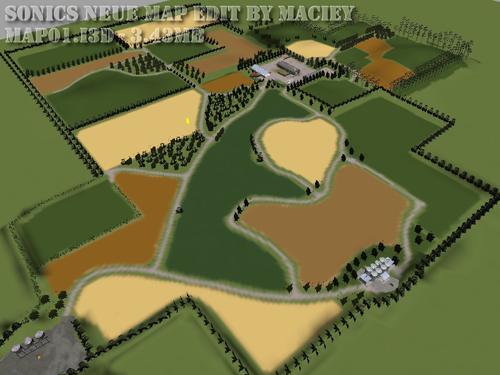 Sonics Neue Map