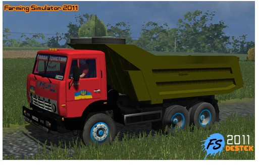 Photo of Kamaz 55111 KAmyon 2011