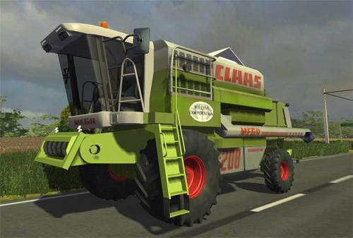 Photo of CLAAS Mega 208 Biçerdöver