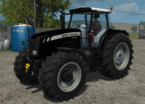 Photo of Massey Ferguson 7499 Black Beauty