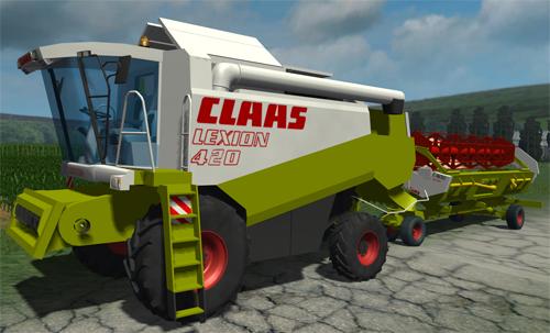 Photo of CLAAS Lexion 420