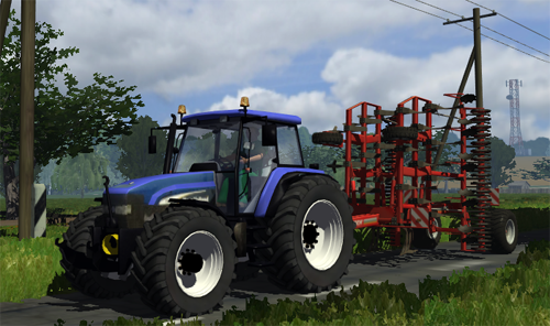 Photo of New Holland TM155