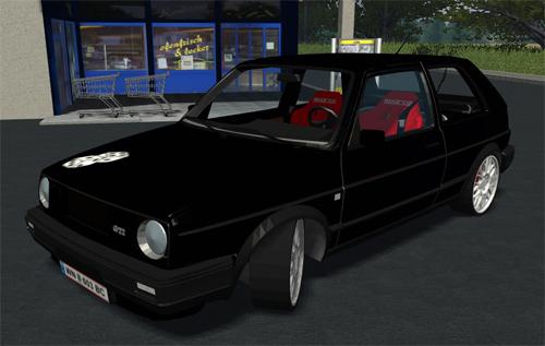Photo of VW Golf II GTI Siyah