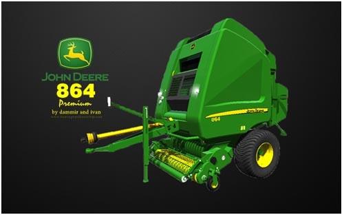 Photo of John Deere 864  Balya Yapma Makinası