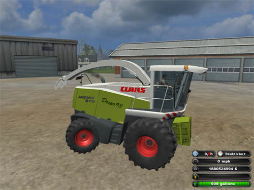 Photo of Claas Jaguar 870 Forager