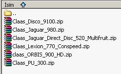 Photo of Claas Jaguar 980 v 2 Forager Paketi
