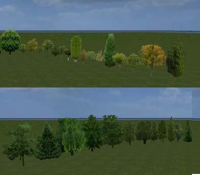Photo of 10 Adet Değişik Ağaç Çeşiti Harita Objeleri