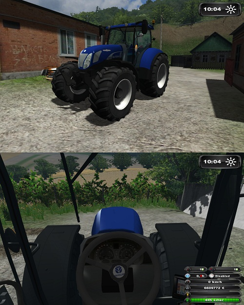 Photo of NewHolland T7070 BluePower