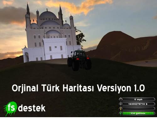Orjinal Türk Haritası Versiyon 1.0 (Beta)