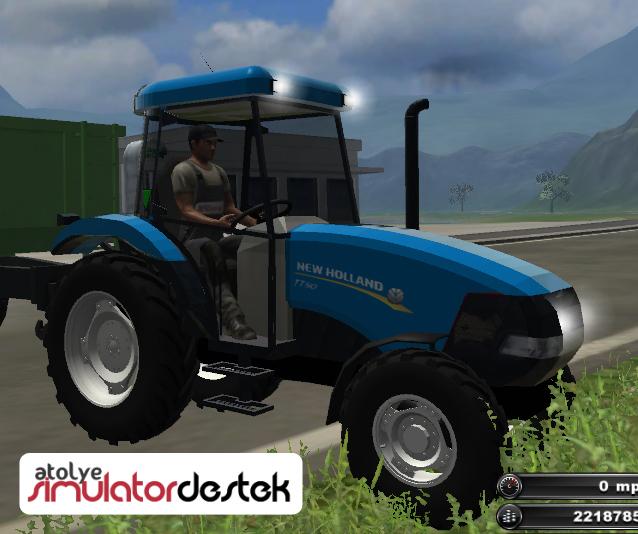 Photo of New Holland TT50 Türk Traktörü