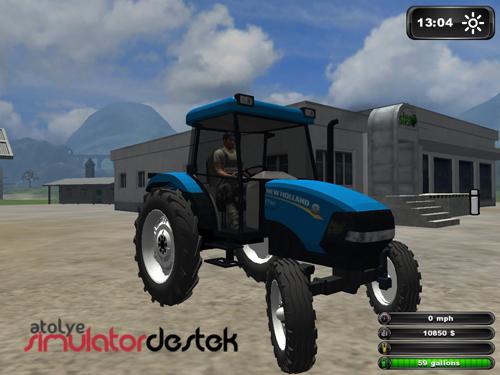 Photo of New Holland TD50 Tek Ceker Traktör Türk