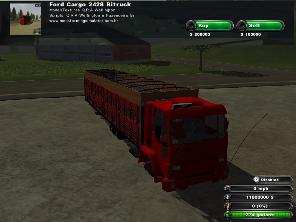 Photo of Ford Cargo 2428