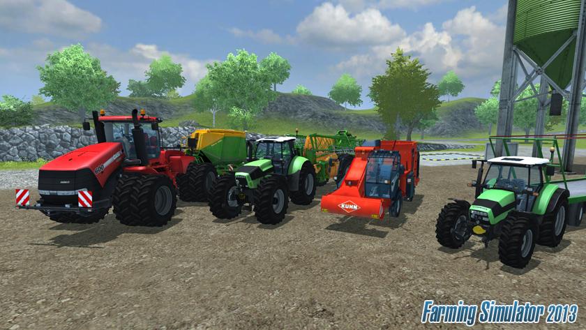 Photo of Farming Simulator 2013 Resmi Sitesinde !