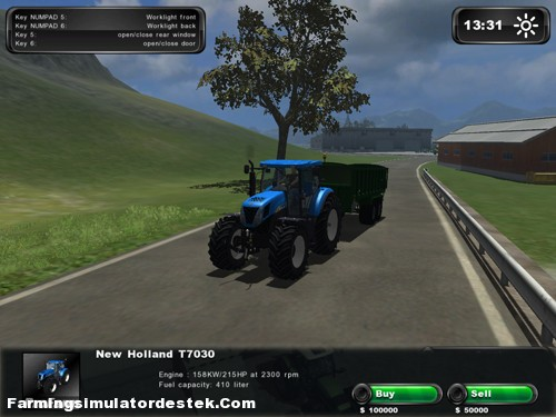 Photo of New Holland T 7030