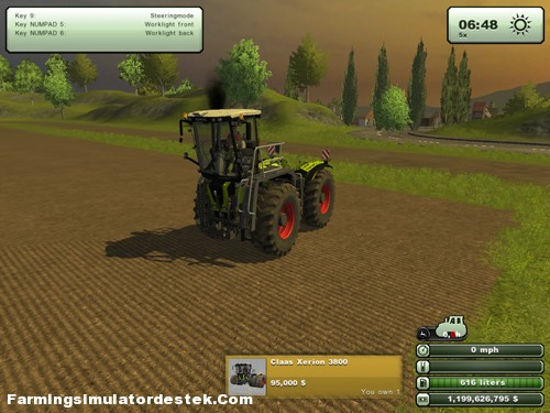 Photo of Claas Xerion 3800