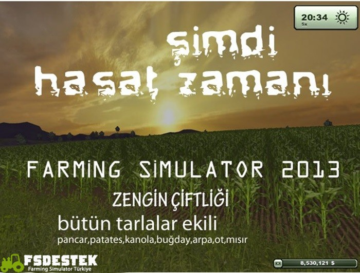Photo of Farming Simulator 2013 Hasat Zamanı