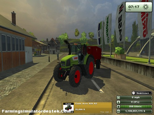 Photo of Claas Ares 826