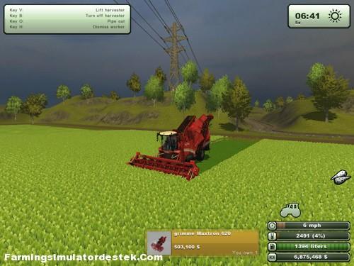 Grimme Maxtron 620 Pancar Hasat Makinası resimi
