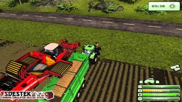 Photo of Farming Simulator 2013 Patates Ekim , Biçim ve Satış Videosu