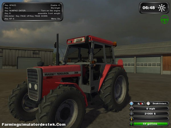 Photo of Massey Ferguson 268 FSdestek Edition 4×4