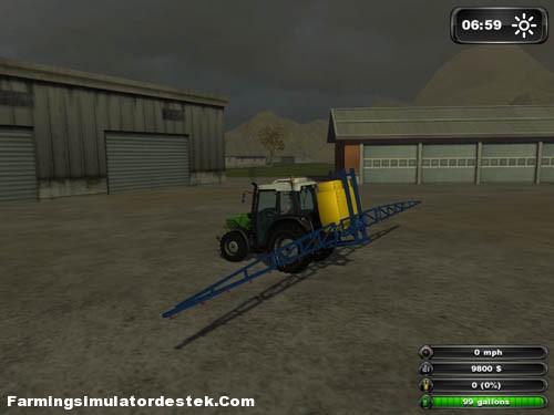 New Holland İlaçlama Makinası FS2011