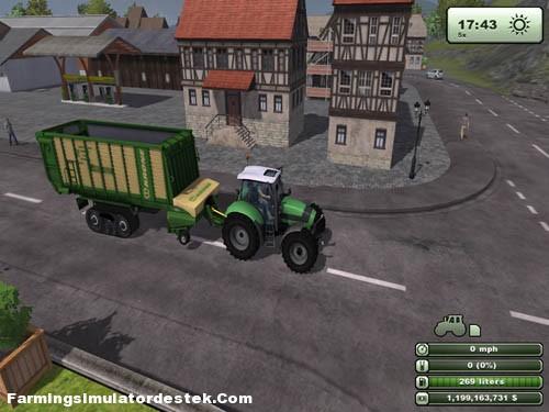 Photo of Krone ZX450 Paletli Römork