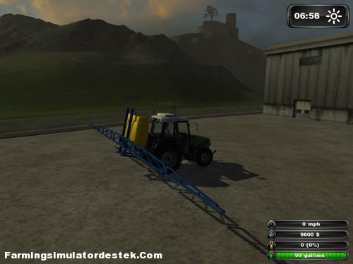 Photo of New Holland İlaçlama Makinası FS2011