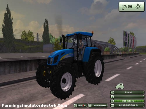 Photo of New Holland T7550