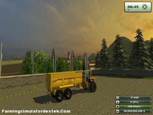 Photo of K744 BIG Römork ve Traktör