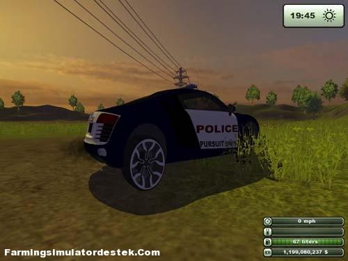 Photo of Audi R8 Polis Arabası
