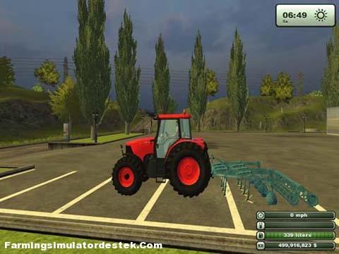 Photo of Kubota 135 Kırmızı Traktör
