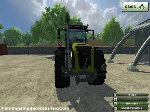 Photo of Claas Xerion 5000 Traktörü