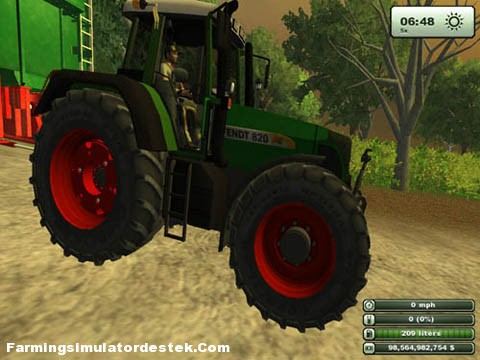 Photo of Fendt 820 Vario Traktör