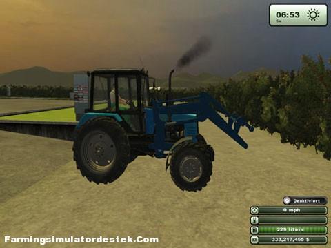 MTZ 1221 Traktör