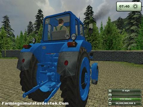 Photo of Mtz 82 Mavi Traktör