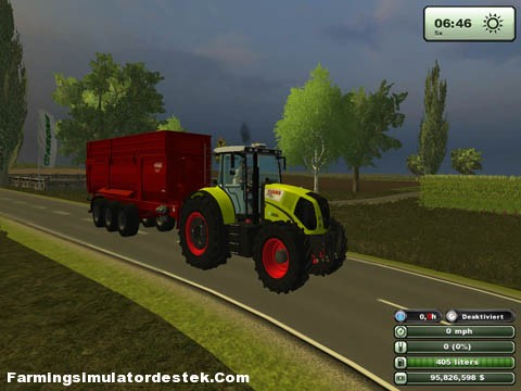 Photo of Claas Axion 850