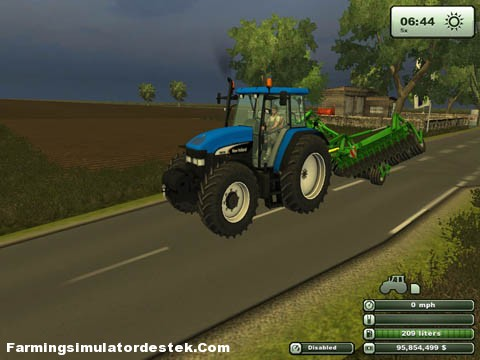 Photo of New Holland TM 190