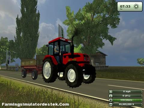 Photo of Belarus 1025 Kırmızı Traktör