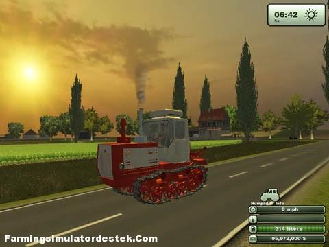 Traktör T-150 ve modifikasyonları 30