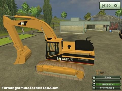 Cat 345B